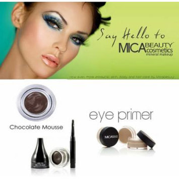 Mica Beauty Cosmetics Mineral Makeup Gel Eyeliner Chocolate Mousse + Eye Primer