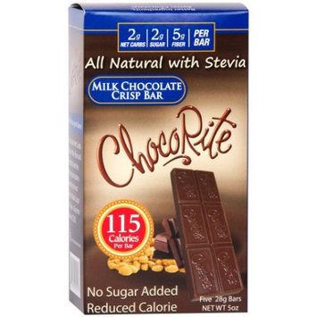 ChocoRite Milk Chocolate Crisp Bar, 5 ea