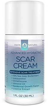 InstaNatural Scar Cream - Removal Treatment for Old & New Scars - With 15% Sea Kelp Bioferment
