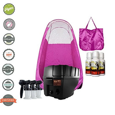 MaxiMist Pro TNT Spa Quiet Spray Tanning System with Tent