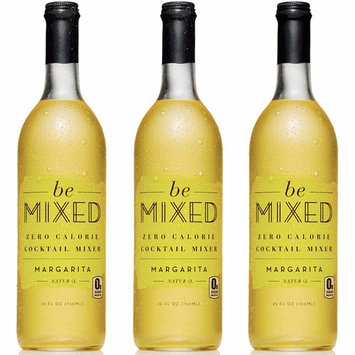 Zero Calorie Margarita Cocktail Mixer by Be Mixed | Low Carb, Keto Friendly, Sugar Free and Gluten Free Drink Mix | 25 ounce bottle, 3 pack