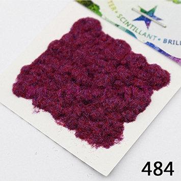484 Powder Purple Red Series Nail Art Modelling Craft DIY Manicure