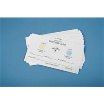 Medline MDS200800 Instrument Sterilization Record Load Cards, Yellow to Brown (Box of 500)