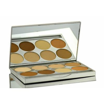 Graftobian HD Pro Powder Foundation Palette, Warm