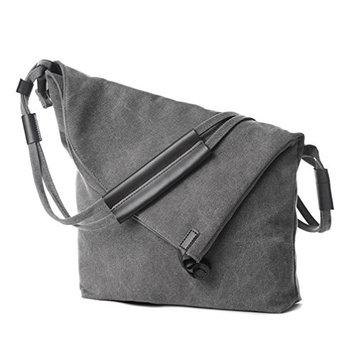 OVERMAL Women Canvas Messenger Shouder Handbag Tote Weekender