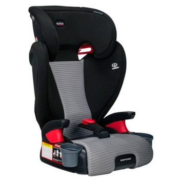 Britax Dual Comfort Midpoint Booster Car Seat - Black/Gray