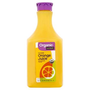 Marketside Organic No Pulp Orange Juice, 59 oz