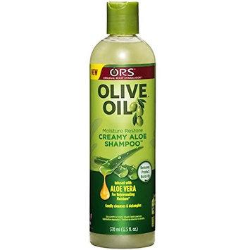 PACKAGE] ORS CREAMY ALOE SHAMPOO 12.5oz nutrient-rich hair hydration : Beauty