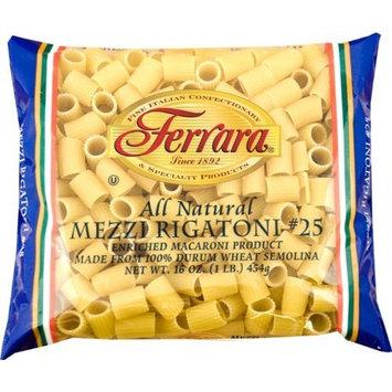 Ferara Pasta, Mezzi Rigatoni, 1-Pound (Pack of 20)