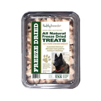 Healthy Breeds 840235146728 8 oz Norwegian Elkhound All Natural Freeze Dried Treats Chicken Breast