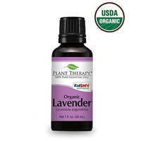 Plant Therapy USDA Certified Organic Lavender Essential Oil. 100% Pure