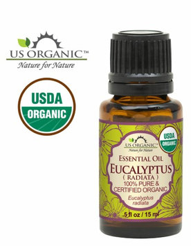 Us Organic 100% Pure Certified USDA Organic - Eucalyptus Essential Oil (Radiata) - 15 ml
