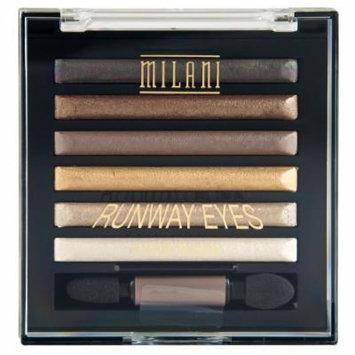 Milani Runway Eyes Fashion Shadow Kit, Ready to Wear, 3 Pack