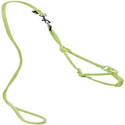 Dogline M8012-5 48 L x 0. 25 W inch Small Comfort Microfiber Round Step-In Harness, Green