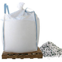 2000 lb. Skidded Supersack of Bare Ground Calcium Chloride Pellets with Traction Granules