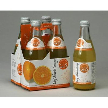 Gus Grown-Up Soda, Dry Valencia Orange, 4 x 12.00 OZ (Pack of 6)