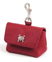 Rockin Doggie Rockinft Doggie 844587012564 Red Leash Accessory Bag