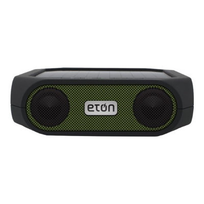 Eton Rugged Rukus Solar-Poweredg Wireless Bluetooth Speaker