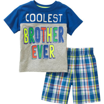 Healthtex Baby Toddler Boy Graphic Tee and Short Outfit Set