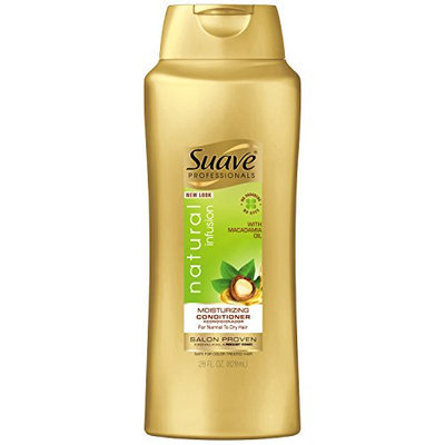 Suave Professionals Natural Infusion Macadamia Oil and White Orchid Conditioner