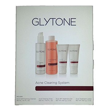 Glytone Acne Clearing System 4 Piece Kit - Cleanser
