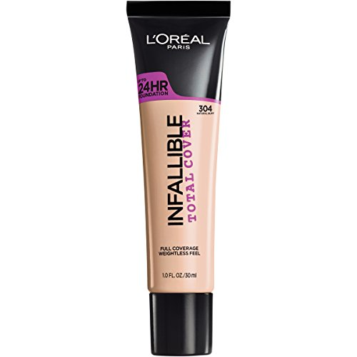 L'Oreal Paris Cosmetics Infallible Total Cover Foundation