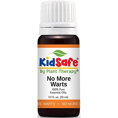 Plant Therapy Essential Oils Kid-Safe No More Warts Synergy Oil Blend