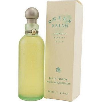 Ocean Dream By Giorgio Beverly Hills For Women. Eau De Toilette Spray 3.0 Oz.
