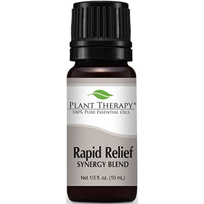 Plant Therapy Rapid Relief Synergy (Formerly Known As Pain-Aid) Essential Oil Blend. 100% Pure