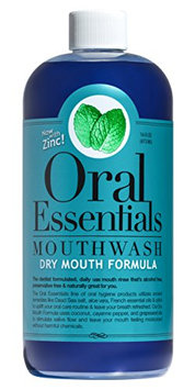 Oral Essentials Dry Mouth Formula Mouthwash