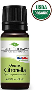 Plant Therapy USDA Certified Organic Citronella Essential Oil. 100% Pure