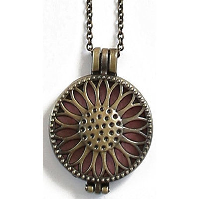 Plant Therapy Aromatherapy Diffuser Necklace Pendant for Essential Oils