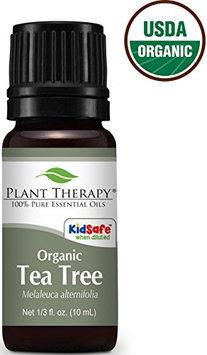 Plant Therapy USDA Certified Organic Tea Tree (Melaleuca) Essential Oil. 100% Pure