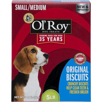 Ol' Roy Original Biscuits, Small/Medium Breed, 5 lb