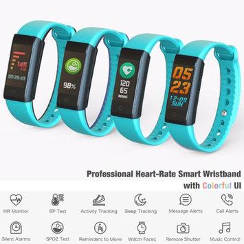 Indigi Fitness Tracking Smart Bluetooth 4.0 Wristband w/ Heart Rate + Blood Pressure + Sleep Monitor + Pedometer & Calorie Coun