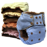 EcoPosh Recycled Organic Fitted Pocket Diaper, Love One Size (Discontinued by Manufacturer)