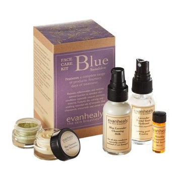 Blue Face Care Kit by evanhealy