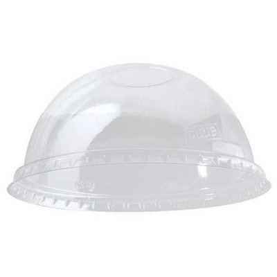 DIXIE DL1624 Dome Lid,16 and 24 oz, Clear, PK1000