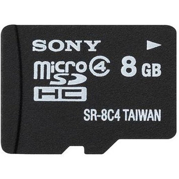 Sony 8GB Class 4 Micro-SDHC Mem Card