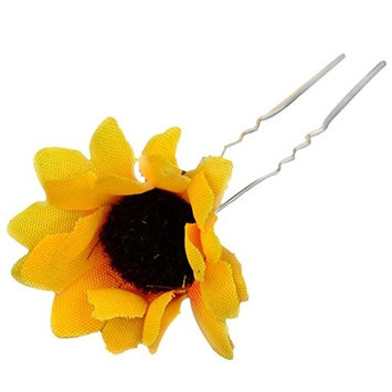 Women's 5Pcs Sunflower HairPin Party Beach Wedding Prom Bridal Hair Barrette