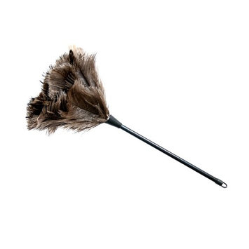 JIALEEY Ostrich Feather Duster 14-Inch, Gray
