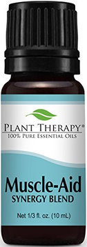 Plant Therapy Essential Oils Muscle Aid Synergy Oil Blend