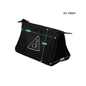 3CE Pouch Makeup Pouch Bag Travel Cosmetic Bags #Black K-beauty