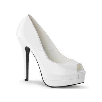 Bordello Shoes Bella Wht/Wht Size: 9