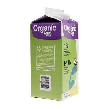 Great Value: Organic 1% Low Fat Milk