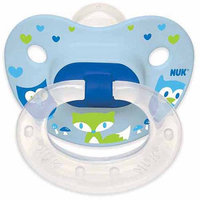 Nuk Usa, Llc NUK Woodlands Pacifier, 6-18 Months, 4-Pack, Silicone, Boy