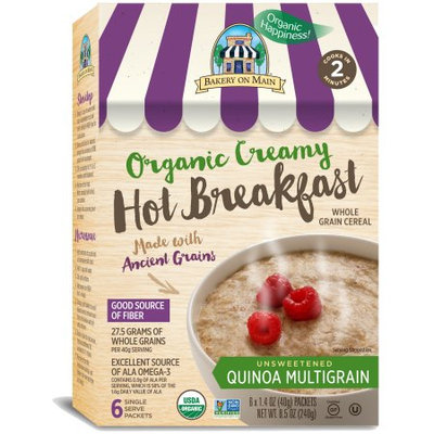 Bakery On Main Hot Breakfast with Ancient Grains Quinoa Multigrain 6 Packets