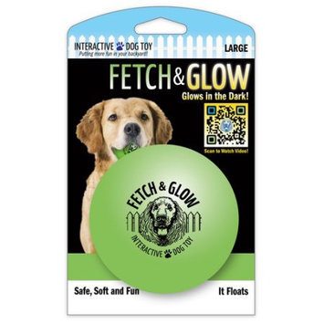 American Dog Toys 1947 Large Fetch and Glow Ball