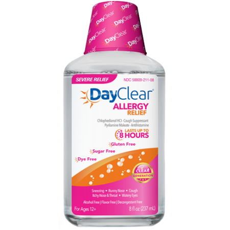 DayClear Allergy Relief, 8 Oz