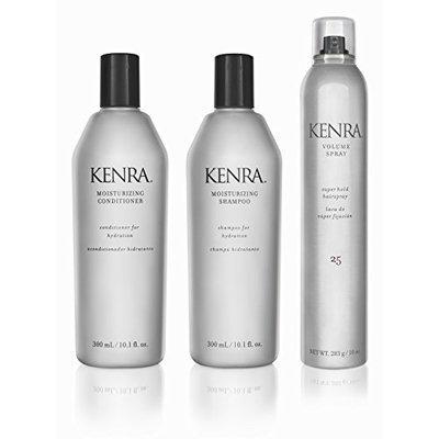 Kenra Moisturizing Shampoo Conditioner Hairspray Gift Set